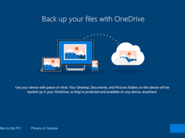 Backup to OneDrive